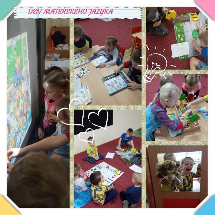 Den mateřského jazyka ve školce.